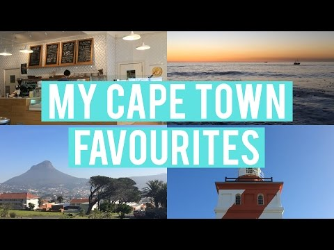 Travel with me: My Cape Town favourites