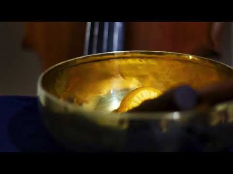 Cello and Nepalese singing bowl - Meditation music