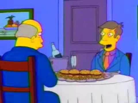 Steamed Hams with electronic sounds