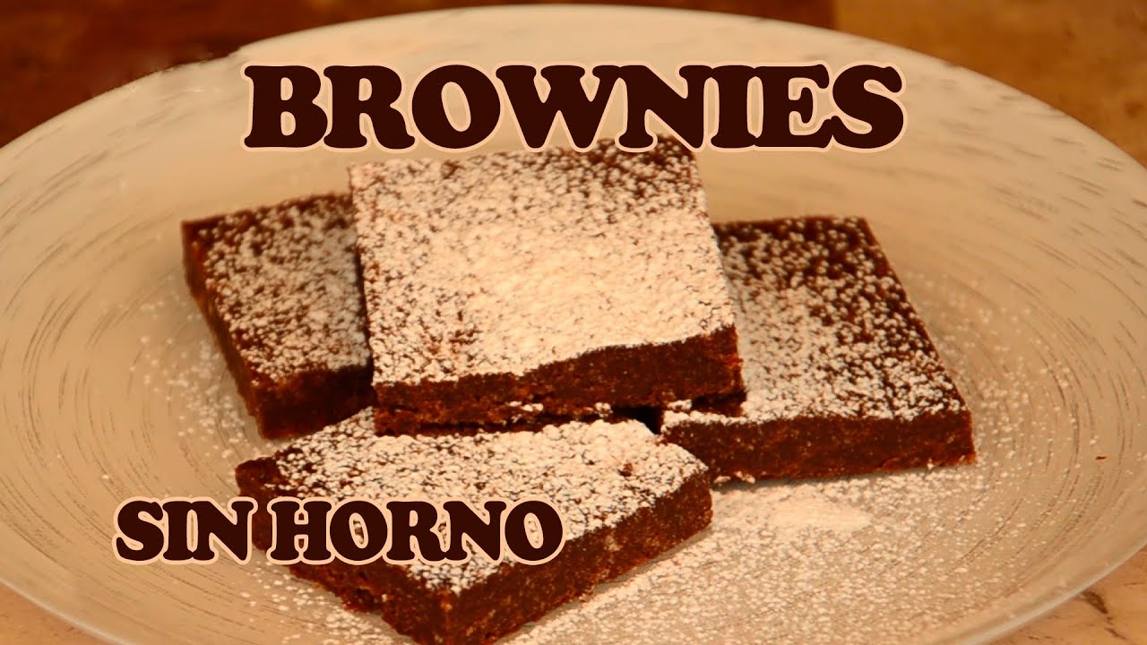 Brownies sin horno con 2 ingredientes receta facil para for Comidas rapidas sin cocinar