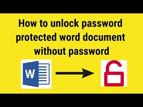How to unlock word document without password thumbnail