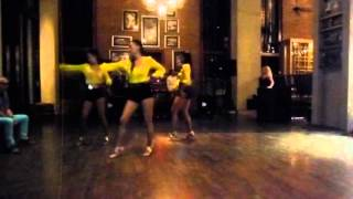 Ladies Touch Bangkok performing I Need You Now at Salsa Pattaya Escape 2015