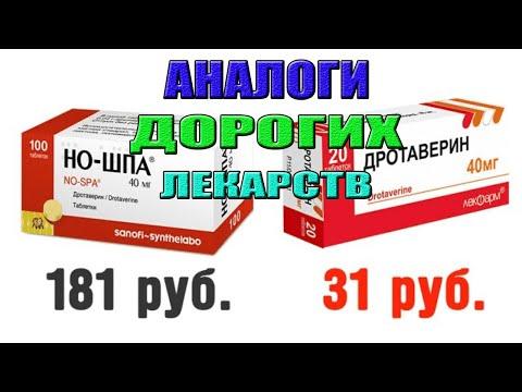 Аналоги дорогих лекарств. Дешевые заменители дорогих лекарств.