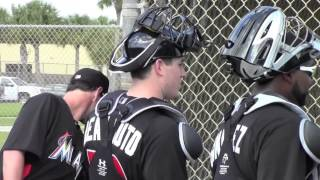Marlins Spring Training-Pitchers & Catchers 1st Workout 2013