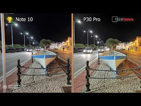 Xiaomi Mi Note 10 Vs Huawei P30 Pro Camera Comparison