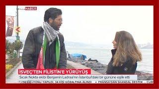 İsveçli Aktivist, Filistin Halkının Sesi Olmak Için Yürüyor | Merve Güneş