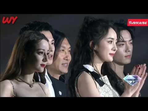 Wang YiBo★YiBo❤️Xiao Zhan Yang Mi Yang Yang... stand together at Tinh Quang Dai Thuong