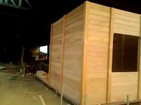 Casa pr fabricada de madeira youtube - Casas de modulos ...