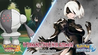 Pokemon Crossover Game: Vs Yorha type B No.2 Nier Automata (Game Crossover)