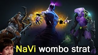 NaVi Enigma, Void and Dendi Magnus wombo-combo strategy