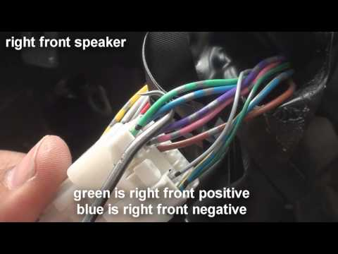 how to understanding wire harness color codes for pioneer avh x toyota camry stereo wiring 2012 2014