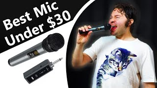 Best Wireless Microphone System Karaoke Cheap Budget (Tonor K380T Dynamic Bluetooth Mic Review 2019)