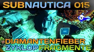 SUBNAUTICA [015] [Diamantenfieber & Zyklop Fragmente] Let's Play Gameplay Deutsch German thumbnail