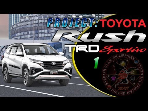 Project: Toyota Rush TRD Sportivo 1 – T130 AE111 & NCP42