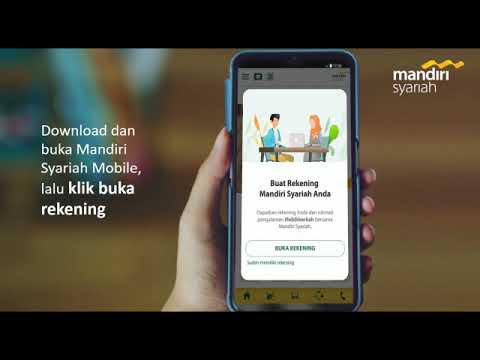 Cara Buka Rekening Online Mandiri Syariah Youtube
