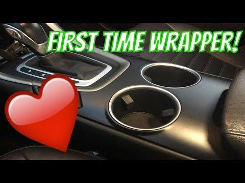 ANYONE Can Vinyl Wrap! - VVIVID Matte Metallic Black