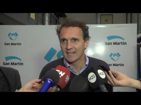 """El Centro para el Desarrollo Productivo """"San Martín Emprende"""" abrió sus puertas"""