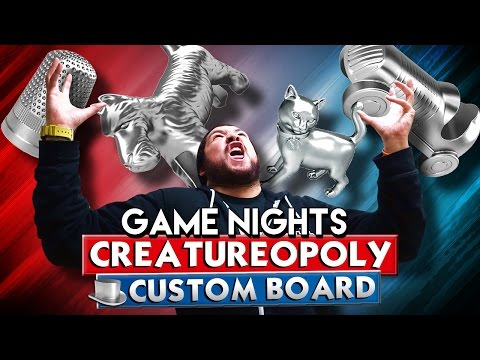 CREATUREOPOLY | Game Nights (Monopoly Plus)