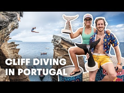 The Winning Cliff Dives From Red Bull Cliff Diving 2019 Portugal