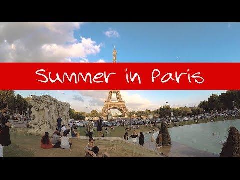 Summer in Paris 2018 (Part 1) - La Seine River Bank Walk Tour