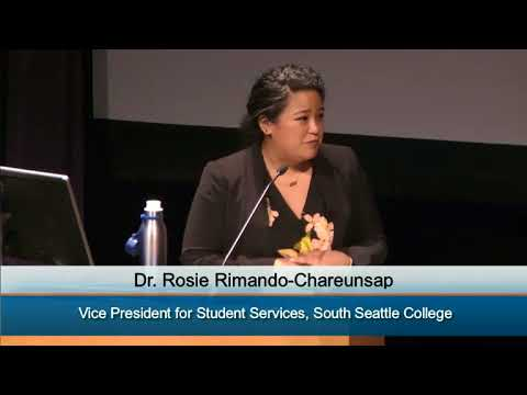 South Seattle College President Search - Dr. Rosie Rimando- Chareunsap