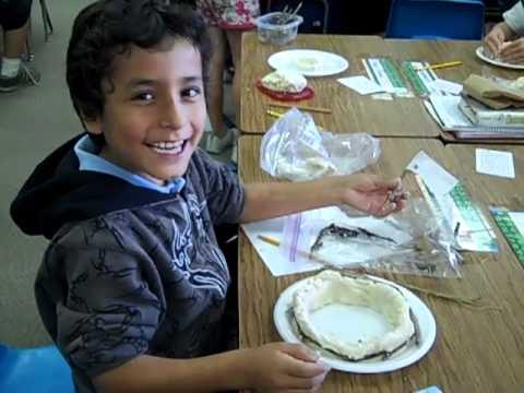 The making of Native American Homes using salt dough!
