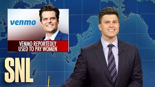 Weekend Update: Matt Gaetz Venmo Sex Scandal - SNL