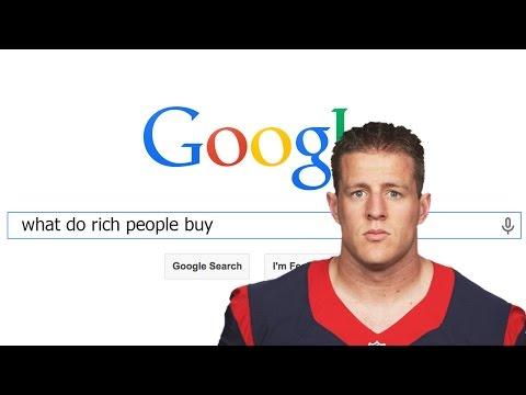 JJ Watt Do Rich People Buy?