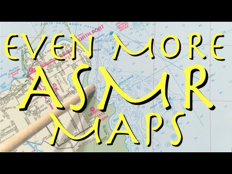 Even More ASMR Maps (soft speaking, tracing, pointing)