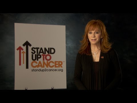 Reba McEntire and the Stars of ABC Stand Up To Cancer