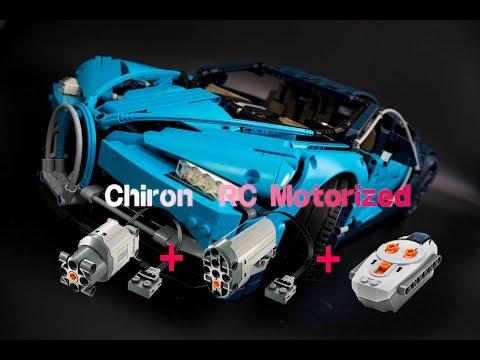 42083 Bugatti Chiron  RC Motorized #1