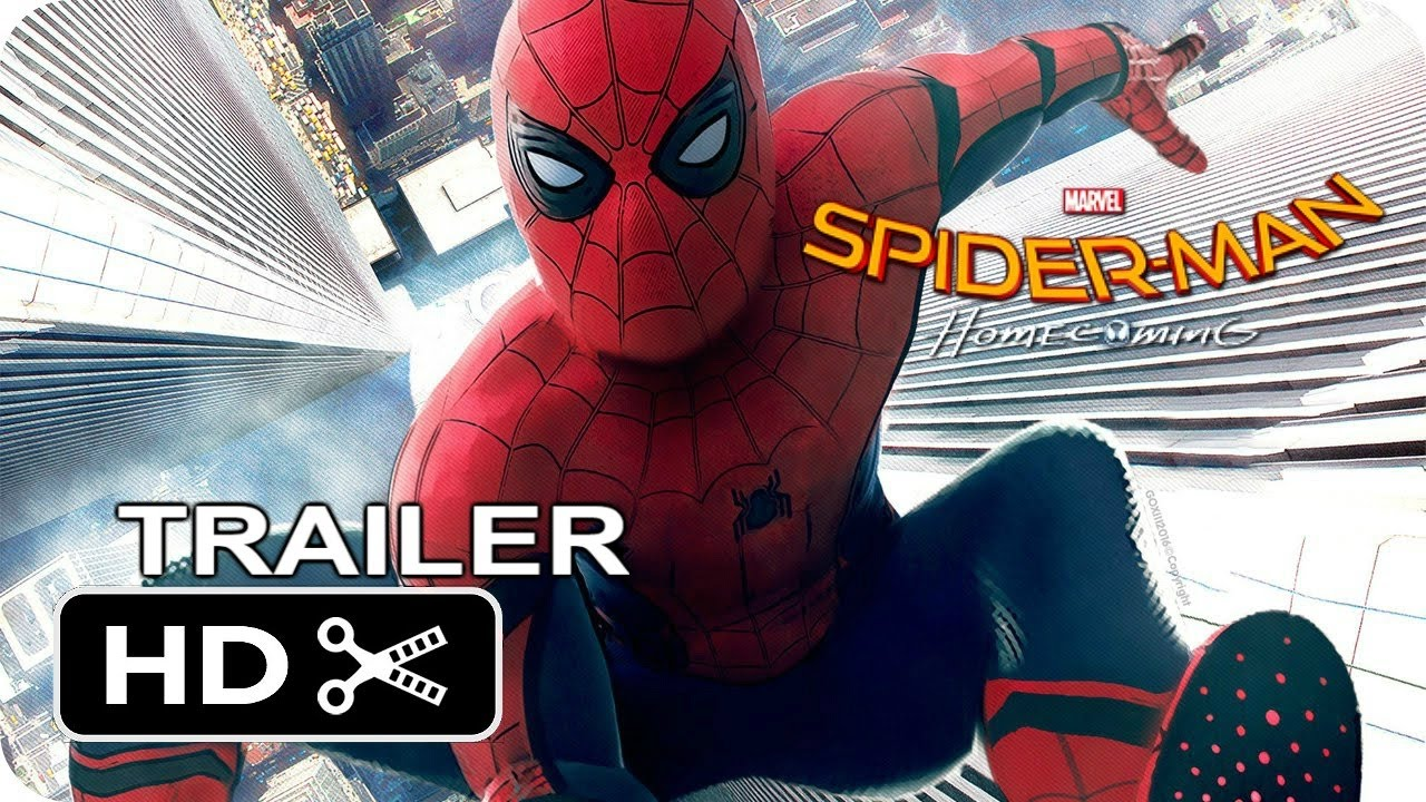 spider swings into action in first spider man - homecoming trailer