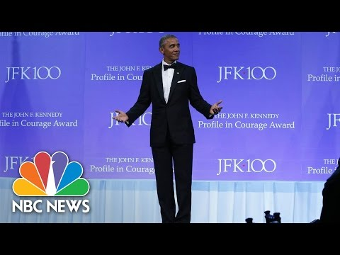 President Barack Obama's 'Profiles In Courage' Award Speech