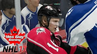 WHAT A GARBAGE GOAL!!!  | NHL 17 Be A Pro Enforcer Gameplay Ep. 3