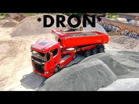 *Holbra DRON* New Scania V8 trucks