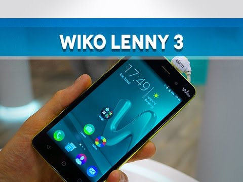 wiko lenny 3 prise en main mwc16 test mobile youtube. Black Bedroom Furniture Sets. Home Design Ideas