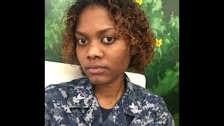 7. My Curly Girl Hair Routine + Military Hairstyle + Pregnant Routine