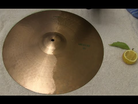 Cleaning A Cymbal With A Lemon - Does It Work?