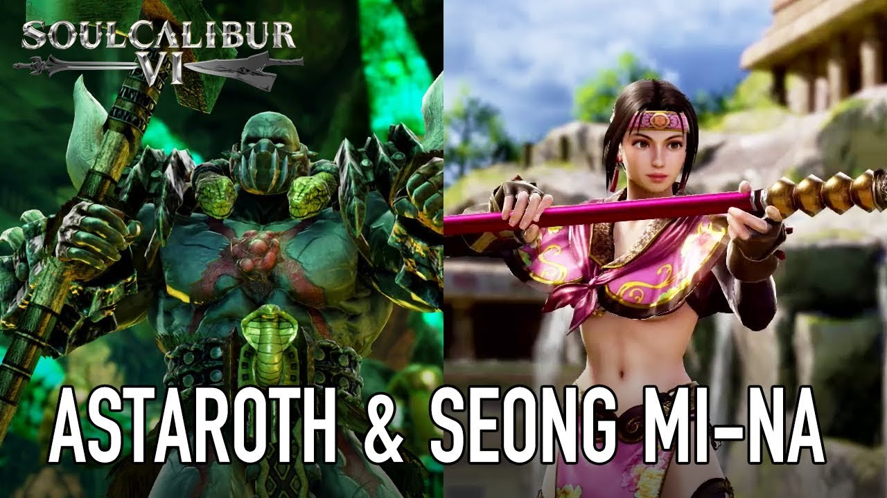 Here's Astaroth and Seong Mi-Na in Soulcalibur 6 • Eurogamer net