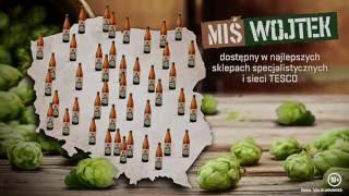 """Produkcja piwa """"Miś Wojtek"""""""