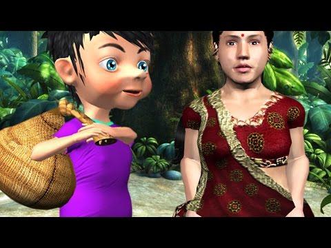 Kunjiyammakkanju Makkalane Malayalam Rhyme - 3D Animation Malayalam Kids Songs