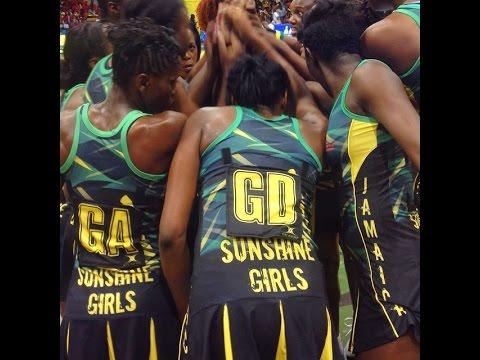 Jamaica's Sunshine Girls beat Barbados Gems 52-22 at National Indoor Sports - 2015