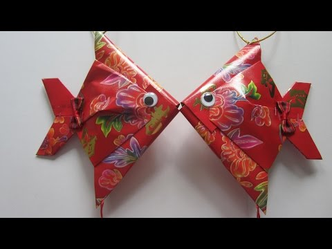 CNY TUTORIAL NO. 28 - Small Red Packet (Hongbao) Fish