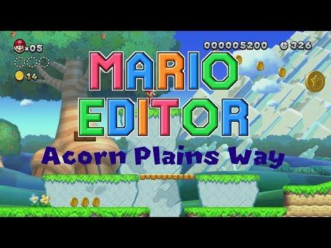 Mario Editor - Acorn Plains Way