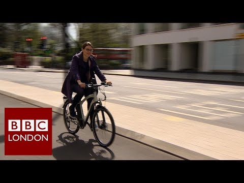 Electric bicycles in London – BBC London News