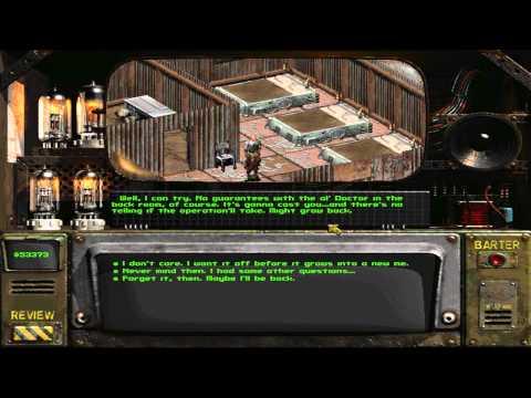 Fallout 2 Unarmed Walkthrough part 74 : Recruiting Goris Again