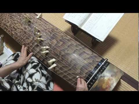 "Japanese music KOTO ""The sound of the flute"",Japan,Kyoto,Wabi Sabi"