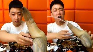 Ăn con ốc vòi voi ốc móng tay còn sống cục súc cùng thánh ăn