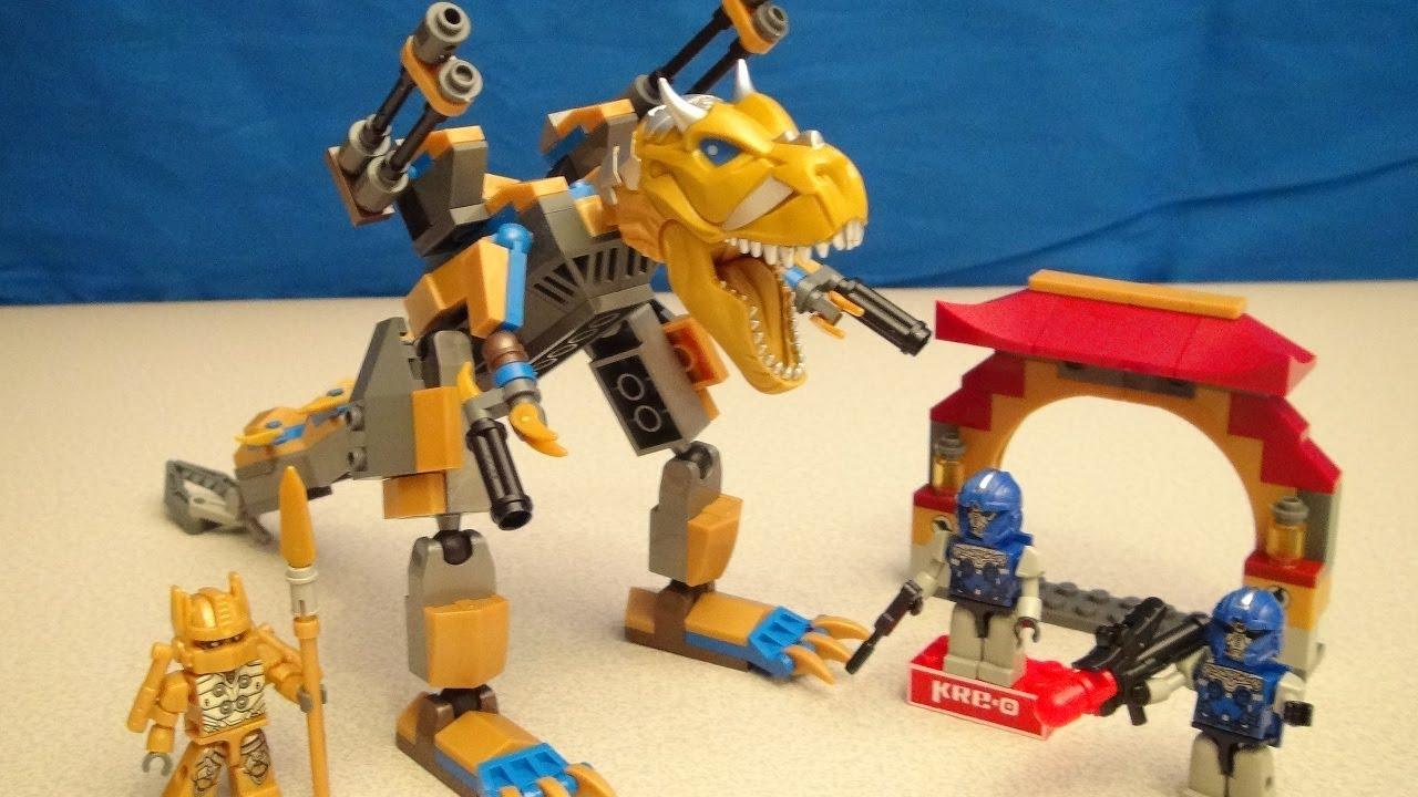 KRE-O Beast Hunters Mech Venom Battle Toy Review | BWTF