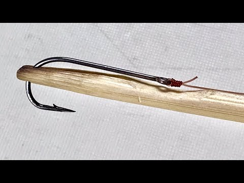 How To Make Kryp Knot Tool From Bamboo - Fishing Hacks